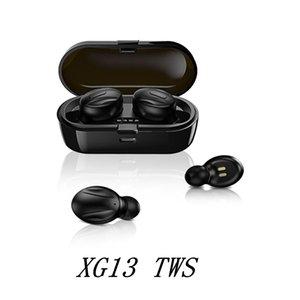 XG-13 TWS Bluetooth 5.0 Wireless-Kopfhörer In-Ear-Stereo-Kopfhörer Noise Reduction Sport Earbuds für Android Phone in Kleinkasten HOT DHL