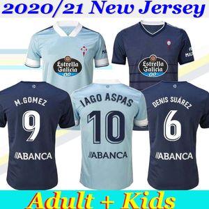 NOUVEAU 2020 21 RC Celta de Vigo Adulte Enfants Football Jersey Lobotka Iago Aspas Santl MINA Football Shirt SISTO BOUFAL Espagne VIGO CELTA
