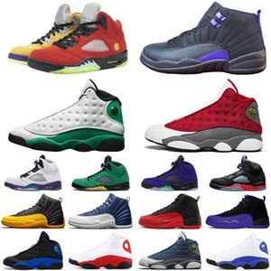 12s Reverse Flu gioco 5s 13s jumpman scarpe da basket uomini Qual The Lucky verde Oregon Ducks Flint mens formatori sport sneakers dimensioni 7-13