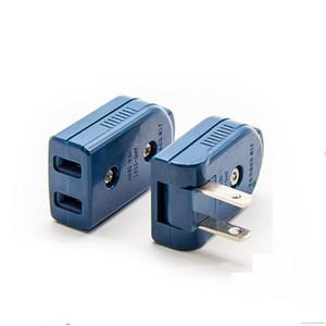 Folding AC Electric Power Plug US American Plug 2 Pin Adjustable Male Plug Female Socket Outlet Adaptor
