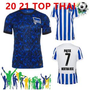 20 21 Hertha BSC Fußball-Trikot piątek 2020 2021 Darida CUNHA Fußball-Hemd DILROSUN Berlin Hertha LUKEBAKIO DUDA Fußball-Trikot