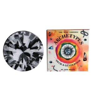 Urbilder The Divided Krans Oracle Vier 78 in wilde Suits Circular Kim Deck Tarot Herrliche Unbekannte Karten qylnQv allguy