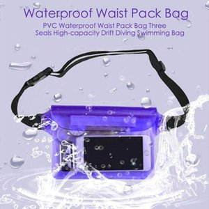 PVC Waterproof Fanny Pack Phone Pouch with Waist Strap,Underwater Floatable Phone Bag for Beach, Swimming, Boating, Diving