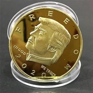 Новые 2020 Donald Trump Золотая монета Памятная монета президент Trump Art монет коллекции подарков 9 стилей