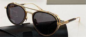 Nuevas gafas de sol Hombres Diseño Metal Retro Gafas de sol Epiluxu Piloto Japonés Hecho a mano Boutique Classic UV 400 Gafas Top Calidad