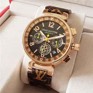 2020 New Arrivals Homens Mulheres Relogio Designer de Luxo Moda Dial Calendário Quartz Casual Assista Masculino Relógio Senhora Montre Com Caixas