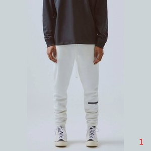 Hommes Sweatpant à la mode Hiphop Joggers avec modèle de lettre Garçons 2020 Nouveau Pantalon Automne Casual Drawstring embosser Tackpants