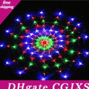 방수 RGB 스파이더 C1 (120)지도 화려한 빛 크리스마스 파티 웨딩 LED 커튼 문자열 조명 잔디 램프를 .2m