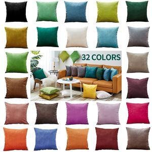 Cushion Cover Sofa Decorative Pillows Cover Velvet Pillow Case for Living Room Car Decoration Kussenhoes 45x45 Home Decor