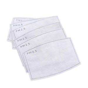 Ativar Shipping! Substituível PM2.5 substituível Carbon Free filtro Máscara 5 Ply Famask Pad Pm2.pm2.5 Ativar Carbono filtro Máscara substituível