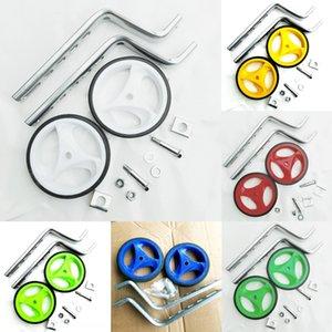 12-20 pollici a spina di pesce accessori ausiliario per biciclette accessori per biciclette per bambini Universale rotellina della staffa ruota ausiliaria ricambi Cycl