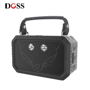 DOSS Reisende im Freien Bluetooth V4.0 Lautsprecher Wasserdicht IPX6 bewegliche drahtlose Lautsprecher 20W Stereo mit Bass und