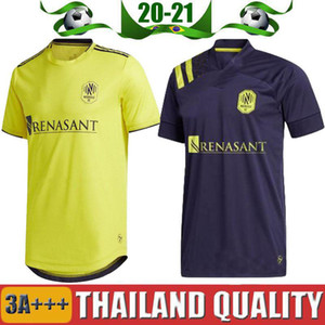 2020 Nashville SC maglie di calcio 20/21 MLS Nashville Hany Mukhtar ZIMMERMAN casa camicia lontano calcio Bambini kit enfants LEAL McCarty uniforme