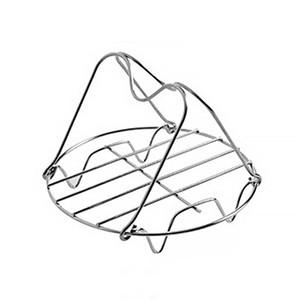 С ручкой из нержавеющей стали Pan для Instant Pot Паровой Rack Steamer кронштейну