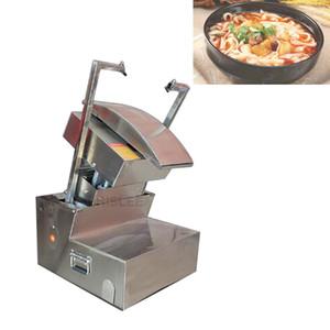 Faca de aço inoxidável máquina de macarrão Noodle elétrica fabricante de máquinas Handmade Noodles Dough Cutter é simples e conveniente