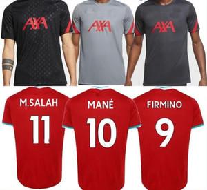 jerseys del fútbol chándal T 20 21 VIRGILIO MANE KEITA MILNER 2020 camisas 2021 de formación superior nueva Tailandia Mohamed M. SALAH firmino