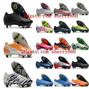 2020 neue Ankunft Mens Low Fußballschuh Mercurial Superfly 13 Elite SG-PRO AC Fußballschuhe CR7 Neymar im Freien Fußballschuh heiß