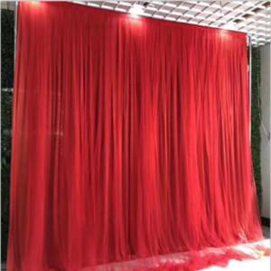 Fundo do casamento Stage Props Silk cortina de metal Arch Decoração Silk Yarn Bem-vindo fundo da área de Pano Curtain Wall Neve Yarn