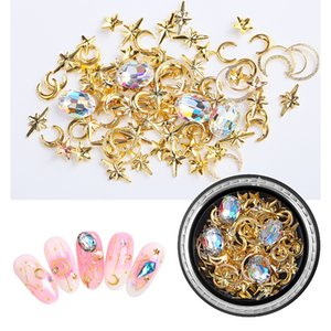 No bad smell 2020 Box Mixed Irregular Shape Nail Jewelry New Arrival Nail Decoration Diamond Nail Decoration D Rhinestone