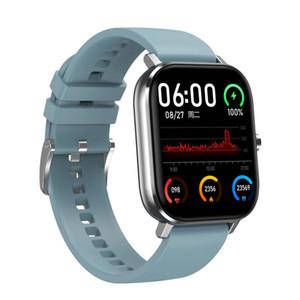 Pressione impermeabile DT35 intelligente degli uomini della vigilanza di Bluetooth chiamata Full Touch Fitness Tracker Sangue Smart Clock IP67 Donne Smartwatch DHL libera il trasporto