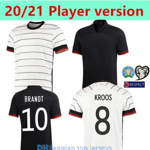 축구 유니폼 홈 멀리 키트 version2020 플레이어는 5 BRANDT 10 KROOS 8 레 우스 MULLER GOTZE KIMMICH 도겐 (20 명) (21) 축구 셔츠 유니폼을 HUMMELS