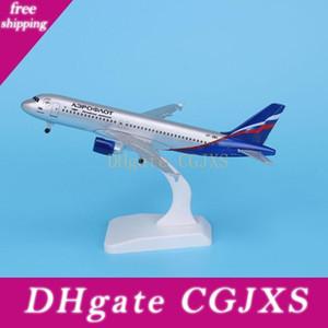 Flugzeug-Modell-Diecast Metal Modell Flugzeuge 20cm 1: 400 Aeroflot Russian Airbus A380 Flugzeugmodell Spielzeug Flugzeug-Geschenk
