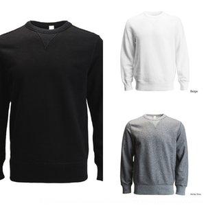 yPJa7 PrintAce Kaká três agulha T-shirt longo T-shirt pano rolo da luva dos homens de colarinho terry 6163