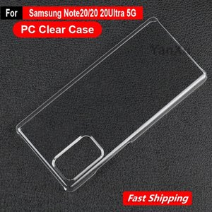 New Ultra mince Crystal Clear PC Hard Case pour Samsung Galaxy Note 20 Housse de protection en plastique Remarque 20Ultra 5G Capa