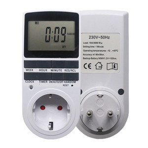 Digital Programmable Timer Switch Programmable Lcd Display Power Supply Timer Time Switch Relay Hot Sale Kitchen Essential