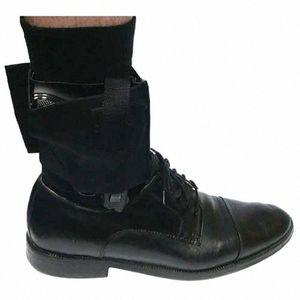 All'ingrosso universale regolabile a scomparsa tattico nero per Carry Ankle Support Leg Pistola Fondina LCP LC9 PF9 Piccolo ordine a 223 SCCY 22f6 #