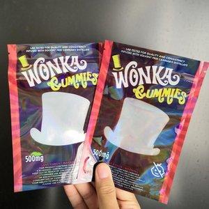 Сумка Данк Gummy Конфеты полудурков Empty Упаковка Веревка Wanka Gummies 500мг Сумки bbgargden SCNTP