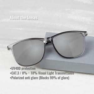 Toketorism моды поляризованным вождения очки TR90 кадров мужчин, женщин Солнцезащитные очки 1099 T3TW