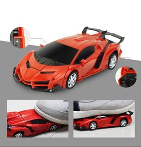 chaud vente voiture déformation télécommande voiture télécommande induction transformation King Kong robot de bébé électrique de voiture télécommande jouet