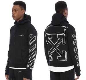 marchio di moda studente hip hop uomo Wu Yifan stesso 3D freccia stampata maglione felpa con cappuccio maglione con cappuccio pHlea