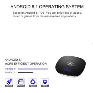 A95X F1 Android 8.1 TV Box Amlogic S905W 2 Go 16 Go Smart TV Box 2.4G WiFi
