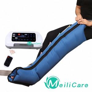 Pressoterapia Air Compression Leg Massager do pé Terapia de Vibração Infrared Arm cintura ar pneumática onda de pressão Máquina eYDK #