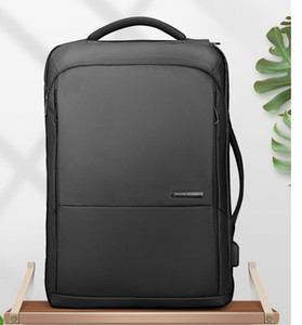 Travel Backpack Large Capacity Teenager Male Mochila Anti-thief Bag USB Charging 15.6 inch Laptop Backpack Waterproof