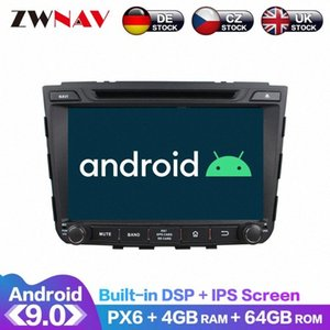 Android 9 IPS Screen PX6 DSP For IX25 Creta 2014 2015 2019 Car No DVD GPS Multimedia Player Head Unit Radio Audio Stereo Car Dvd Dvd P Kyvi#