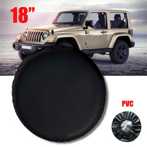 18 Inch Spare Wheel Tire Tyre Cover Case Soft Bag Protector for Wrangler 33 inch-35 inch Wheel Tire