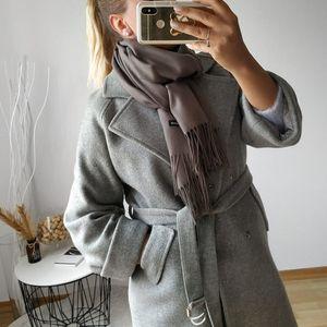 [Lakysilk] Высокое качество шарф Женщины Кашемир Soild Мягкая зима ScarvesShawls дамы грелка пашмины Long Foulard Femme Хиджаб T200818