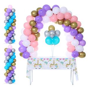 1set шары Arch шар Колонка Stand Стик шар Таблица Stand Birthday Party украшения Дети взрослых Свадебный Backdrop Decor