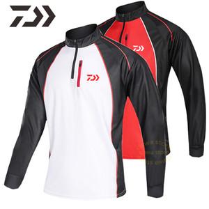 2020 nuovo di pesca shirt manica lunga Uv Sun Protection Quick Dry respirabile Pesca Abbigliamento Jerseys Abbigliamento sportivo
