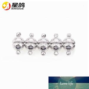 8 * cava 14 1,2 millimetri sfera rotonda forti fibbie Magnet Chiusura magnetica per monili che fanno gli accessori della collana dei braccialetti del filo all'ingrosso