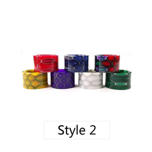 Comb Resin Drip Tips 2 Styles Mouthpiece Drippers for TFV16 Tank TFV8 Baby V2 Atomizer Stick V9 Max Kit