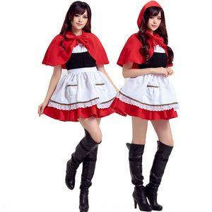 ViTzS Красной Шапочки Cos ролевой cosplays' обязанности Little Red Hat wanshengjie одежда японской одежда Рождество