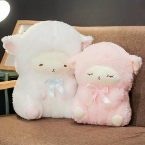 Lucky Boy domingo Dormir Toy Bichos de pelúcia linda Sheep Plush Doll caçoa o presente do bebê