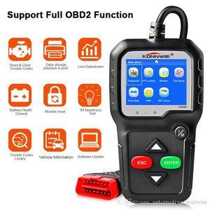 Scanner OBD2 OBD voiture de diagnostic automatique de diagnostic-outil KONNWEI KW680 Lire Effacer Codes d'erreur de défaut russe OBD2 Scanner automobile