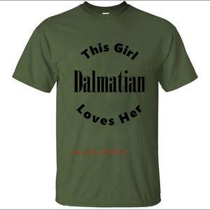 Printed Dalmatian T-Shirt Männer-T-Shirt T-Shirt-Kleidung-Rundhalsausschnitt Fitness Homme Plus Size 2020 Hip Hop Coton