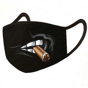 Boca 15 Máscara de polvo 71enulgmokl Piezas unisex Dibujos de algodón Kaomoji Hairclippers2010 Umyrr