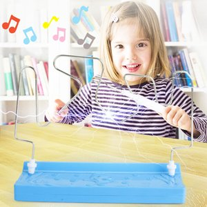Fun Party Contact Board Game Science Educational Toys Collision Electric Touch Luminous Game Toy
